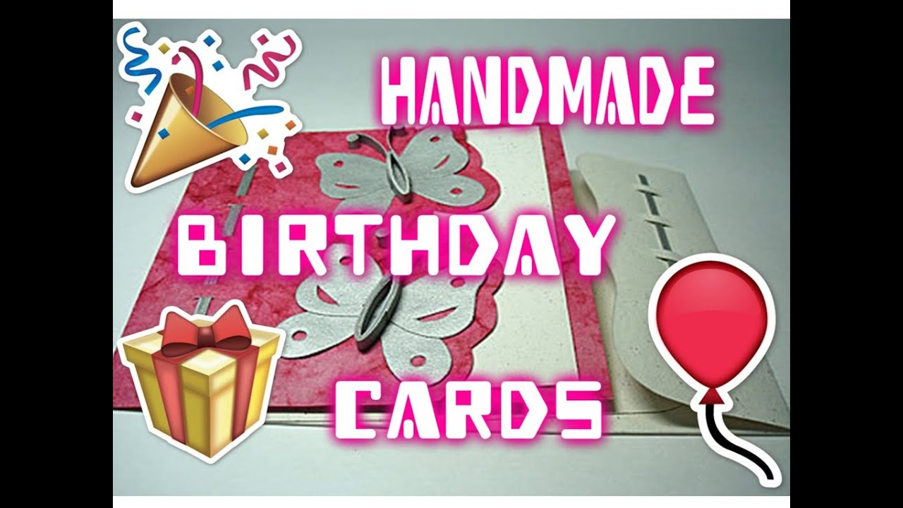 birthday handmade cards birthday card decoration ideas YouTube