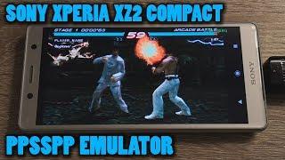 Sony Xperia XZ2 Compact - Tekken 6 - PPSSPP v1.9.4 - Test