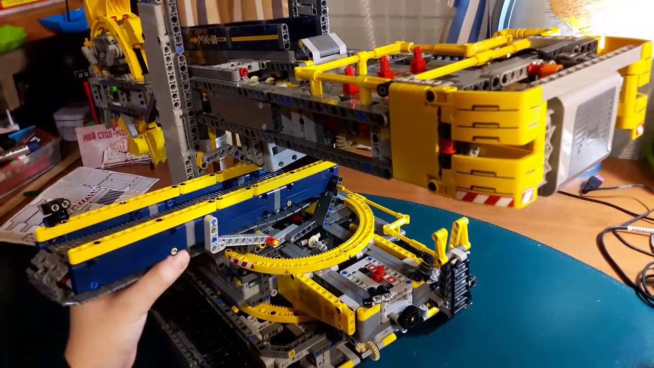 Lego Technic Bucket Wheel Excavator – Review 2 / Лего Техник .