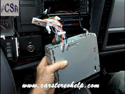jeep cherokee comanche wagoneer aftermarket radio installation