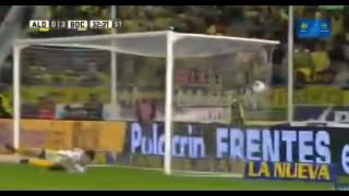 Gol de Fernando Gago - Aldosivi 0 - 3 Boca - Futbol de Argentina 2017 - Fecha 28