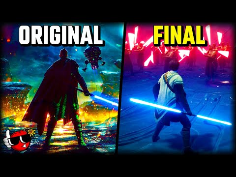 Jedi Fallen Order could have looked like THIS! |