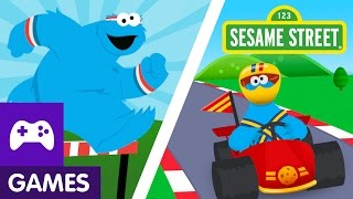 Sesame Street: The Cookie Games with Cookie Monster | Game Video