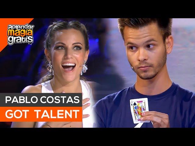 Pablo Costas GOT TALENT España PARTE 1   Aprender magia gratis