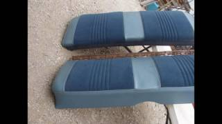 1965 1966 2 DOOR BISCAYNE BEL AIR BACK SEAT IMPALA SS 396 327 409 CHEVROLET