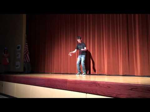 Xander Whitby Yo-Yo Jerome Middle School Talent Show 2016
