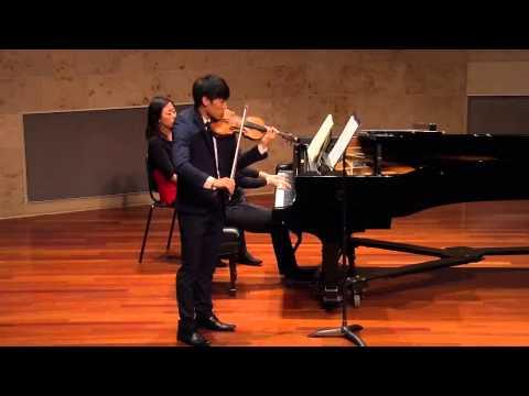 Prokofiev Violin Sonata - Samuel Chen
