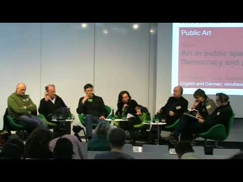 Art in public space: Democracy and participation.flv