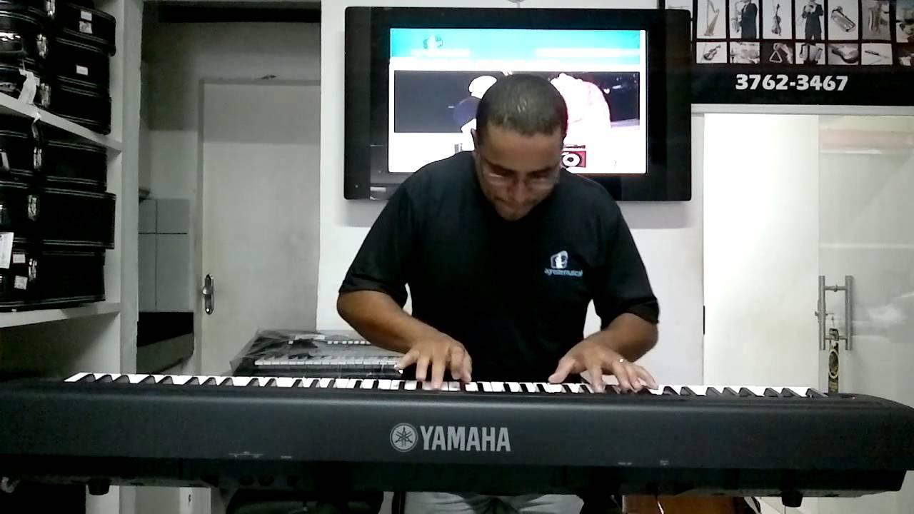 Piano Digital Yamaha P 95 Aldecy Souza