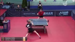 Кристина Казанцева vs Franziska Schreiner (GER) | Belarus Open 2019
