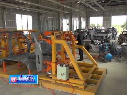 Kojo Safo Kantanga's Car Assembling Plant in Ghana... Interview Highlights including