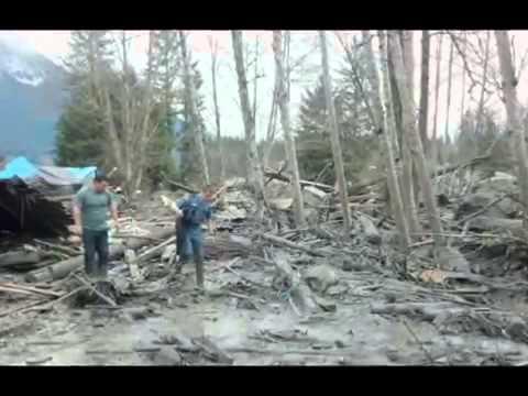 Washington State Snohomish Landslide 3 Killed, 3 Critically Injured   FULL HD Video