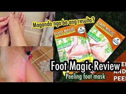 FOOT MAGIC REVIEW(Peeling Foot Mask) /Joy Tallada