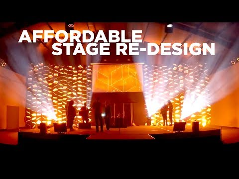 Affordable Church Stage Re-design | Worship Leader Hangout