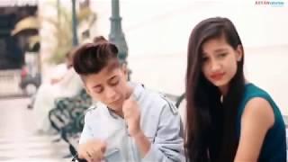 Dekhte Dekhte Song || Cute School Love Story || Rahul & Amrita || Atif Aslam Batti Gul Meter Chalu