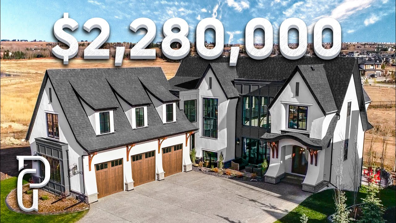 Inside a $2,280,000 Show Home In Calgary, Alberta Canada | Propertygrams Mansion Tours