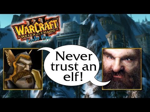 Warcraft 3 Unit Quotes & References: The Alliance