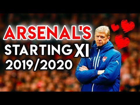 Arsenal's Starting XI in 2019/2020 - Football Manager 2018 Simulation