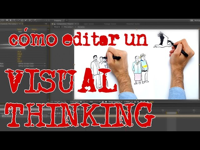 Cómo editar un VISUAL THINKING / WHITEBOARD ANIMATION (After Effects)
