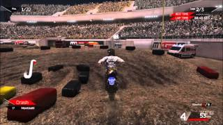 MXGP 2 - The Official Motocross Videogame - Diamond Stadium 1 Track Gameplay (PC HD) [1080p60FPS]