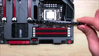 CORSAIR Vengeance DDR3 1866 - How To Build PC Gaming - How to install RAM
