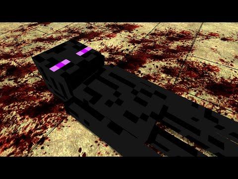 MINECRAFT ENDERMAN TORTURE!! Garry's Mod [Minecraft]