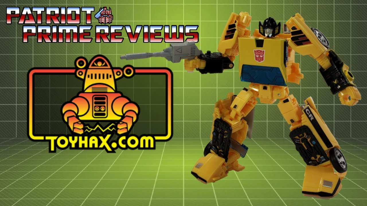Patriot Prime Reviews Toyhax Decal Set for Earthrise Sunstreaker