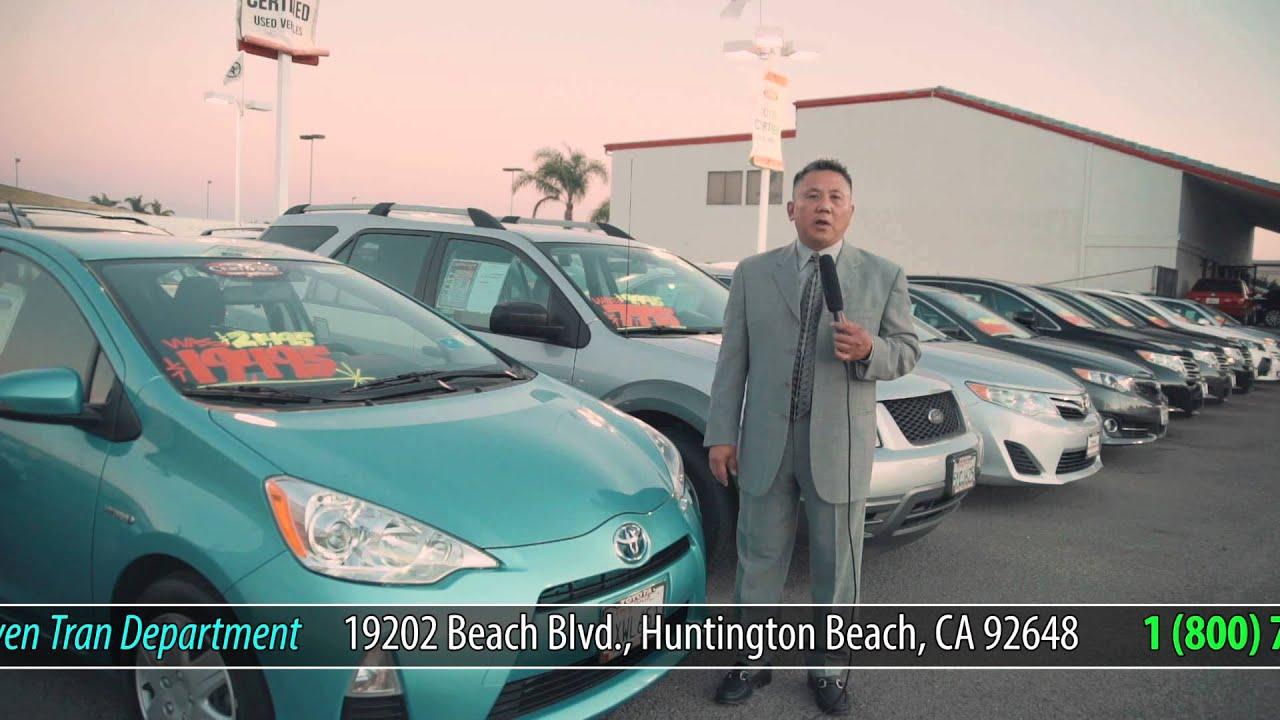 (Talkshow) Toyota Of Huntington Beach   Steven Tran 1 (ver 5mins)  (08 27 2014)