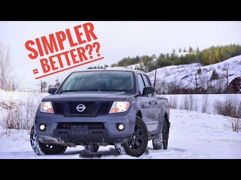 2018 Nissan Frontier SV Midnight Edition 4x4 Test Drive Review