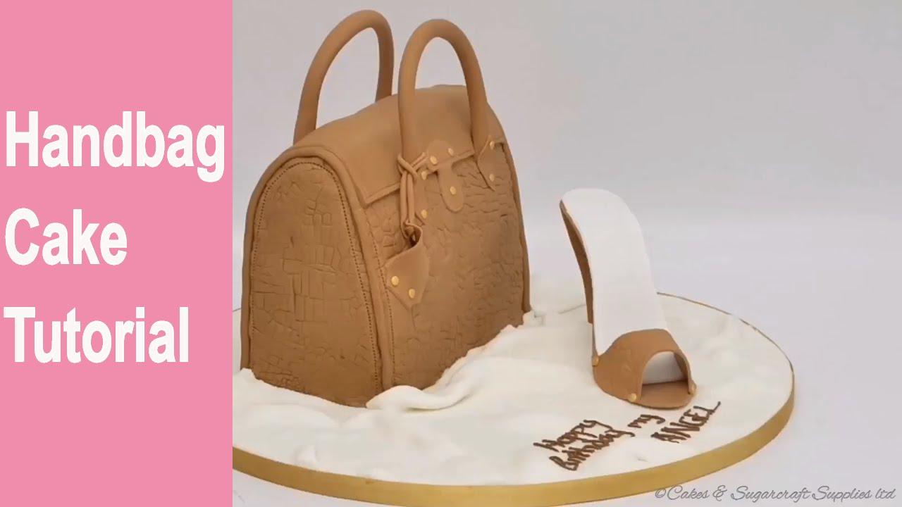 How To Make A Handbag Birthday Cake