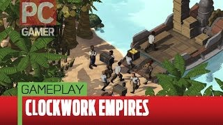 Clockwork Empires gameplay footage