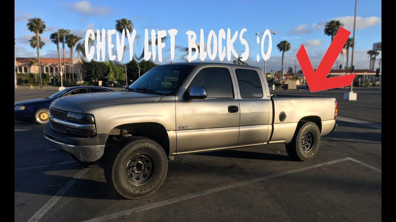 HOW TO UNINSTALL LIFT BLOCKS | Chevy Lift Blocks Uninstall