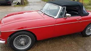 1970 MGC Roadster For Sale @ BeechHillGarage