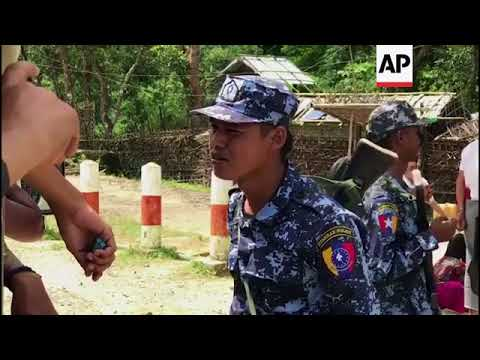 Tight security in Myanmar