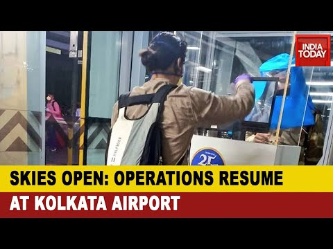 Flight Resumption In West Bengal: Domestic Flights Resume Operations At Kolkata Airport