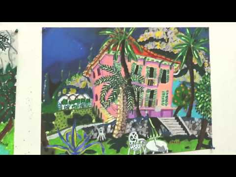 Inside the Artist's Studio - Bernard Ollis
