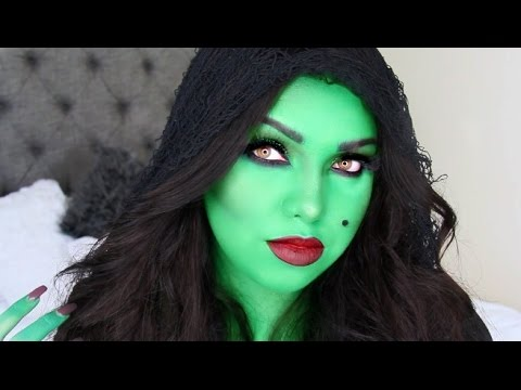 Halloween Witch Makeup Tutorial - YouTube
