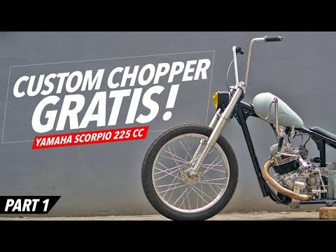 Custom Motor Gratis Buat Karyawan! Eps.01 #AtenxKatros