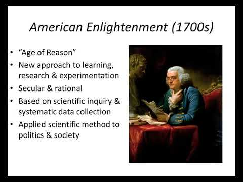 History 11 Science and Religion in Colonial America