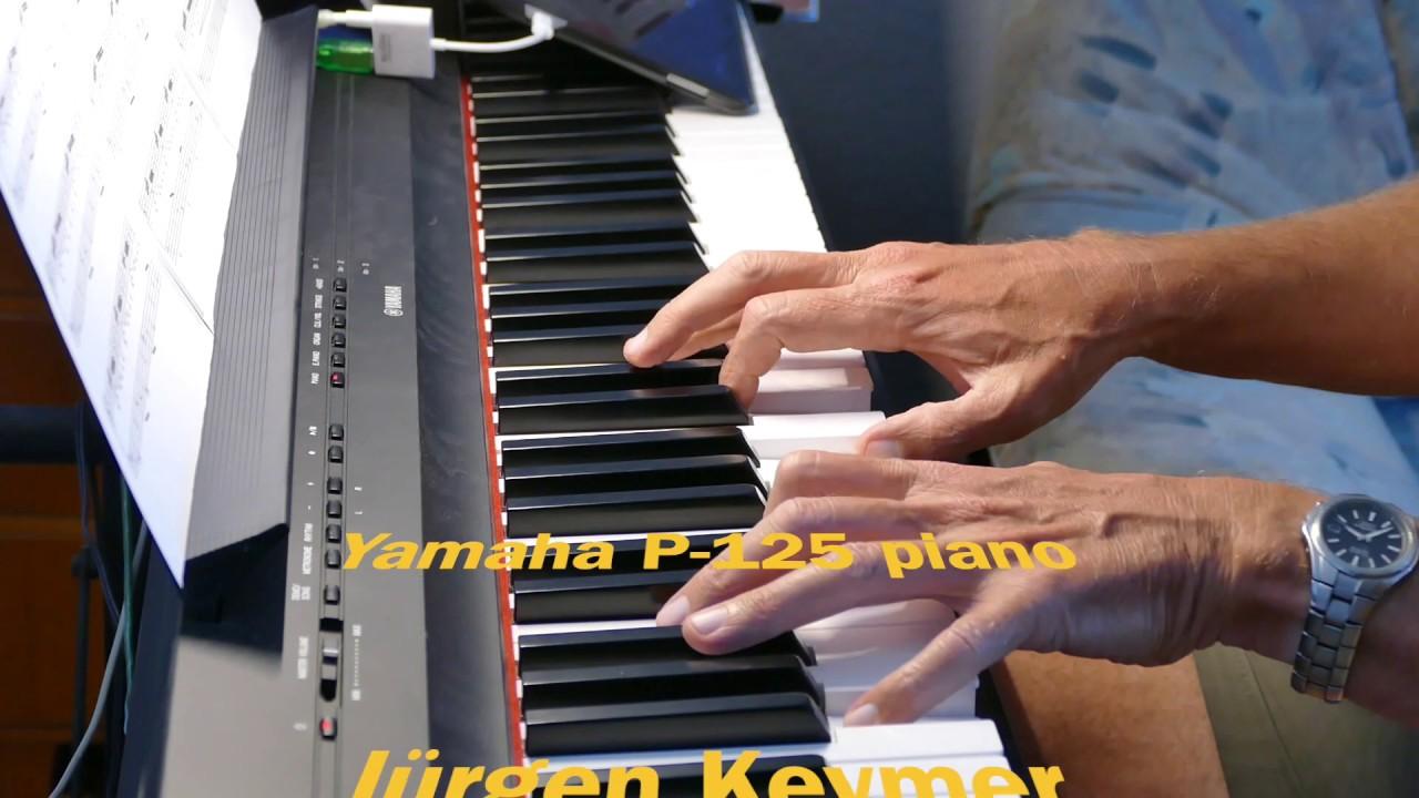 Prelude C minor - Präludium C-Moll  BWV 999  Johann Sebastian Bach - Jürgen Keymer - Yamaha P-125
