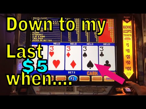 FOUR OF A KIND!: Video Poker Live Win (Double Double Bonus)