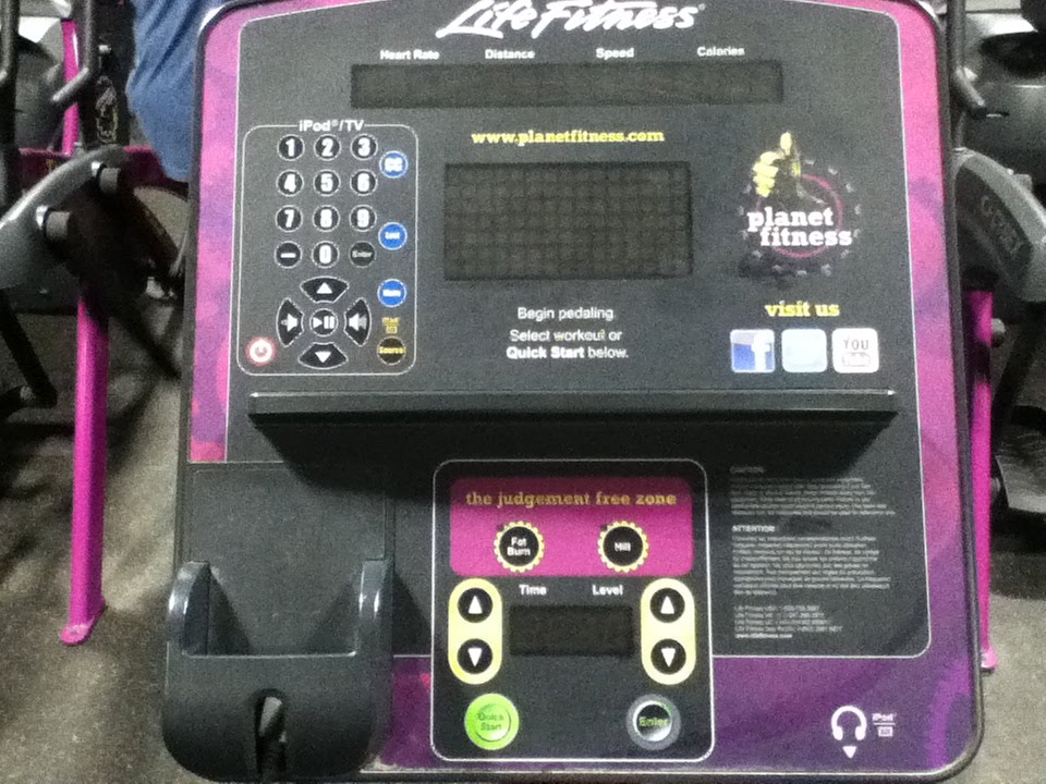 planet fitness elliptical life fitness exercise machine youtube. Black Bedroom Furniture Sets. Home Design Ideas