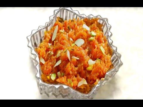 Gajar Ka Halwa (Carrot pudding) - Gajrela or Gajar Barfi - Carrot Burfi by Bhavna