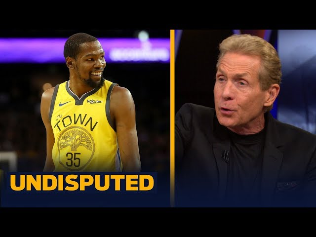 Skip Bayless is expecting the unexpected when KD makes his FA decision next week | NBA | UNDISPUTED