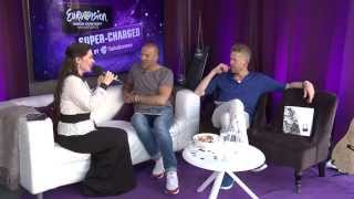 Dina Garipova, representing Russia in Eurovision Song Contest 2013, is a guest in our studio