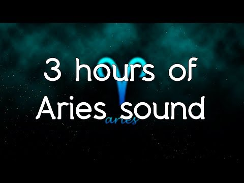 🎧 ♈ Aries sound - Pure frequency of Aries 261.63.Hz and music white noise - Sounds of the Zodiac