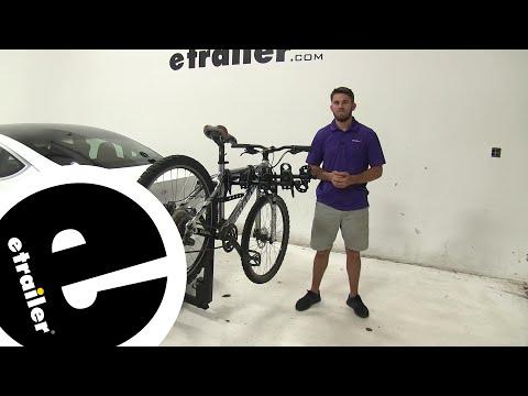 Thule Hitching Post Pro Hitch Bike Racks Review - 2019 Tesla Model 3 - etrailer.com