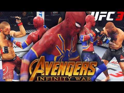 Iron Spiderman From Avengers: Infinity War Is A Beast! EA Sports UFC 3 Online Gameplay
