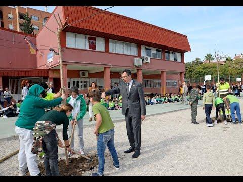 El 'Plan Foresta' llevará más de 2.000 árboles a colegios de Murcia