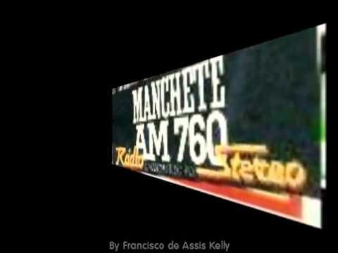 Francico de Assis (Ronaldo Kelly), na Manchete AM, nos Anos 80